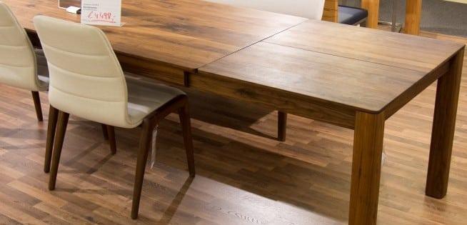 Tischgruppe Nyon von Wimmer mit Verlängerung