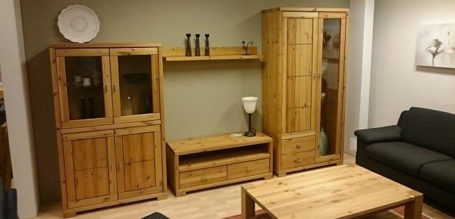 massive wohnwand guldborg m bel k hler in viersen region d sseldorf nrw. Black Bedroom Furniture Sets. Home Design Ideas