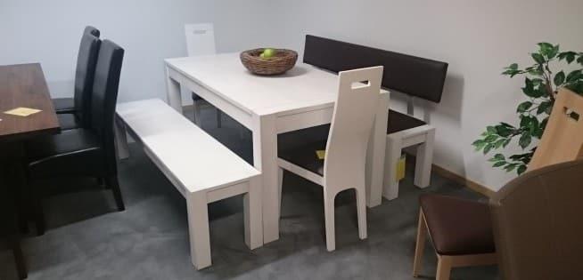 Tischgruppe Anna in Eiche massiv