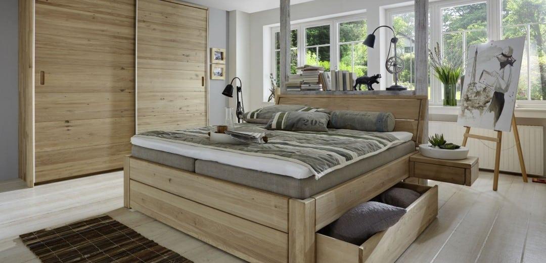 HKC Schwebetürenschrank mit Bett