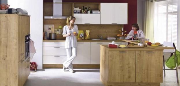 gemütliche Familienküche