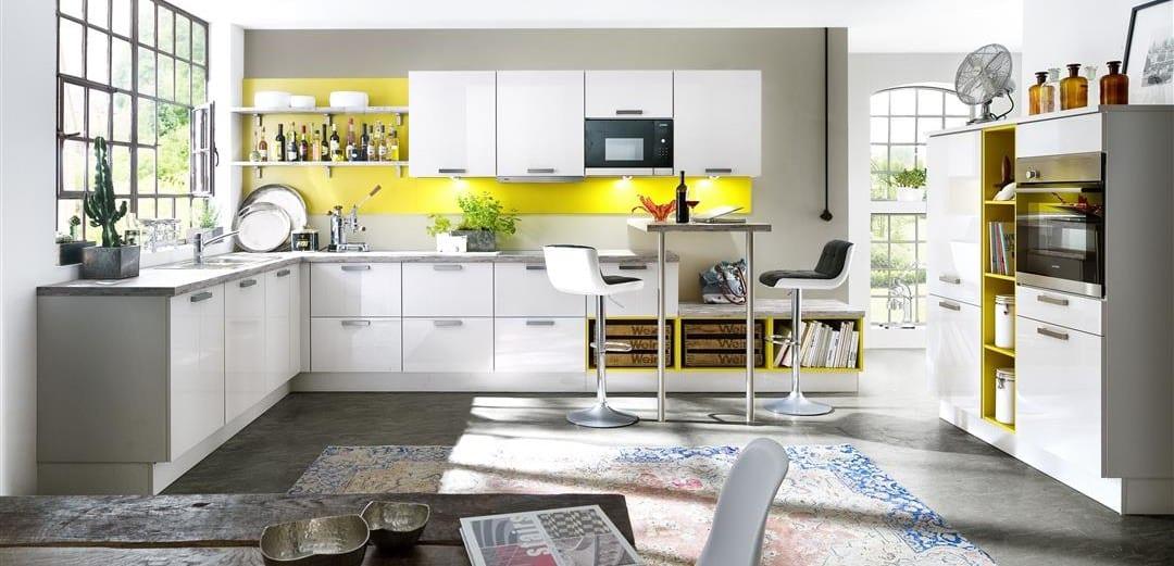 moderne Wohnküche