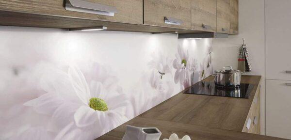 Küchenspiegel mit Motiv