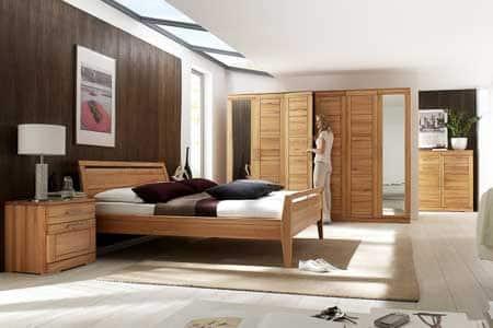 Schlafzimmer Casera in Kernbuche