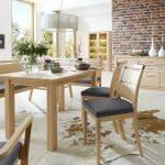 Massive Wohnzimmer- und Speisezimmermöbel