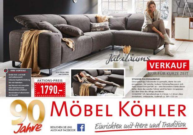Möbel Köhler - Prospekt für Oktober 2017
