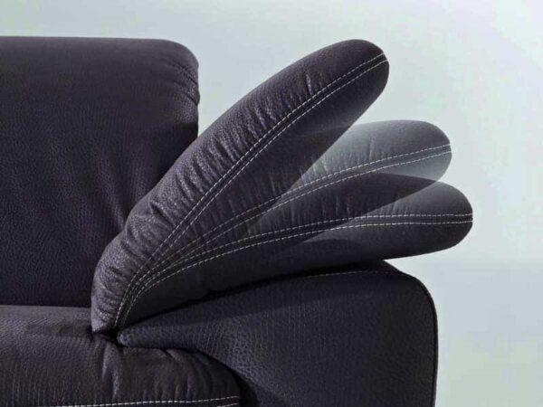 Sofa Fashion mit klappbarer Armlehne