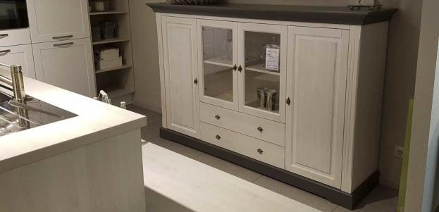 Highboard Windsor in weiss