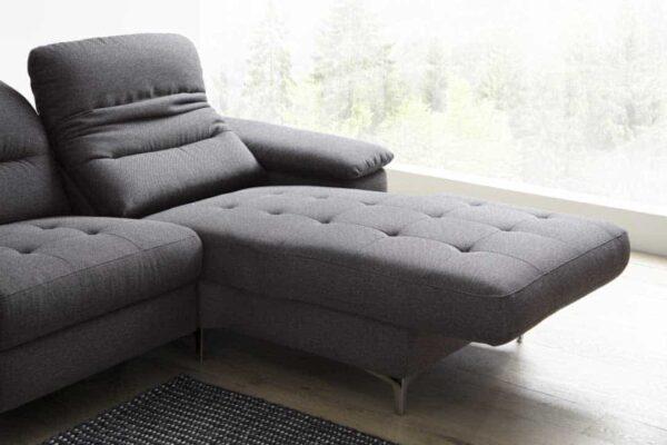 Sofa mit verstellbarem Longchair