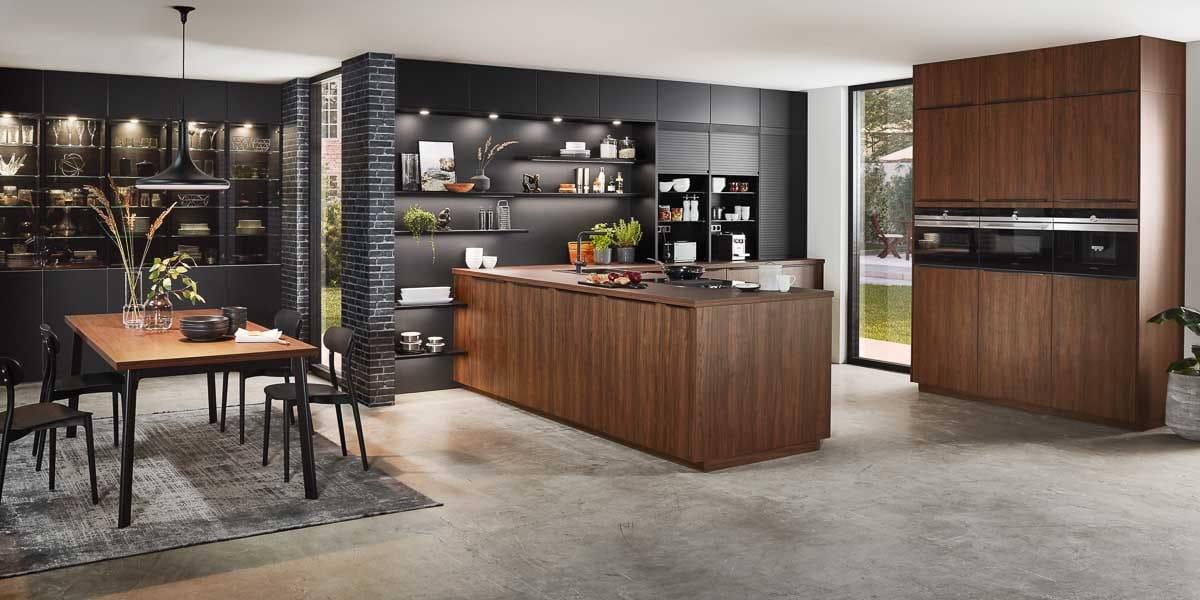 eleganter Küchenstil und ausgefallene Design Küchen bei Möbel Köhler