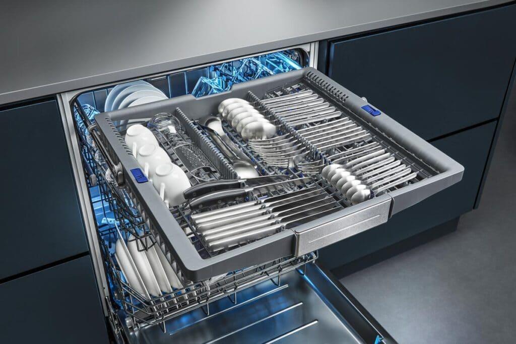Siemens Geschirrspüler mit Besteckschublade