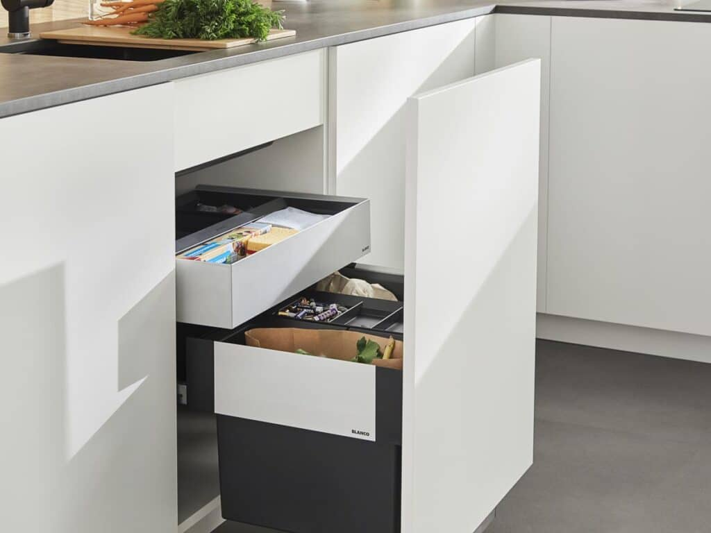 Blanco Mülleimer System für die Küche