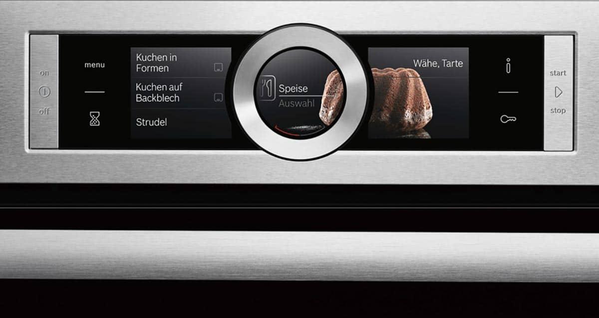 Bosch Backofen mit Touchdisplay