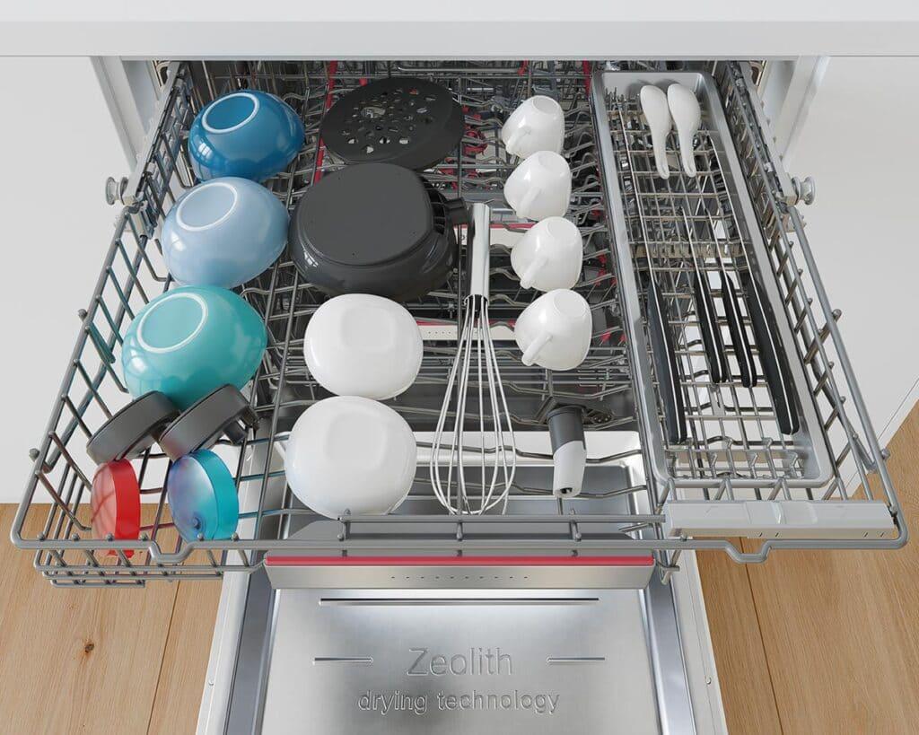 Bosch Geschirrspüler mit Besteckschublade bei Möbel Köhler