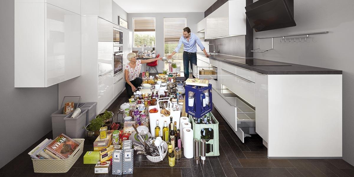 Küchenschränke mit Stauraum bei Möbel Köhler in Viersen