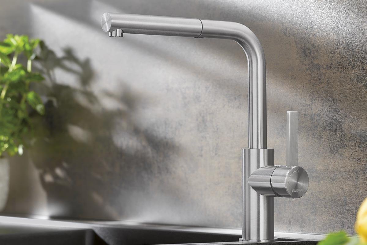 Küchenarmatur mit Schlauch
