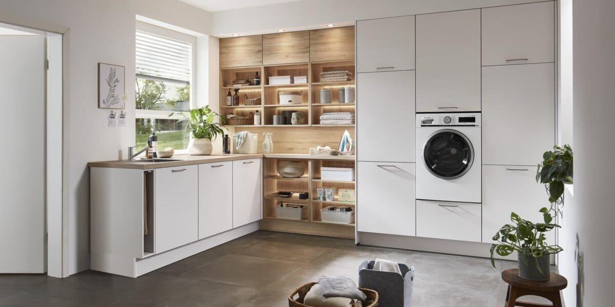 Hauswirtschaftsraum im Küchenstudio in Viersen planen