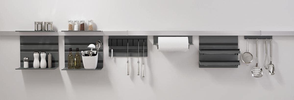 Ordnungssystem Küchenrückwand Reling